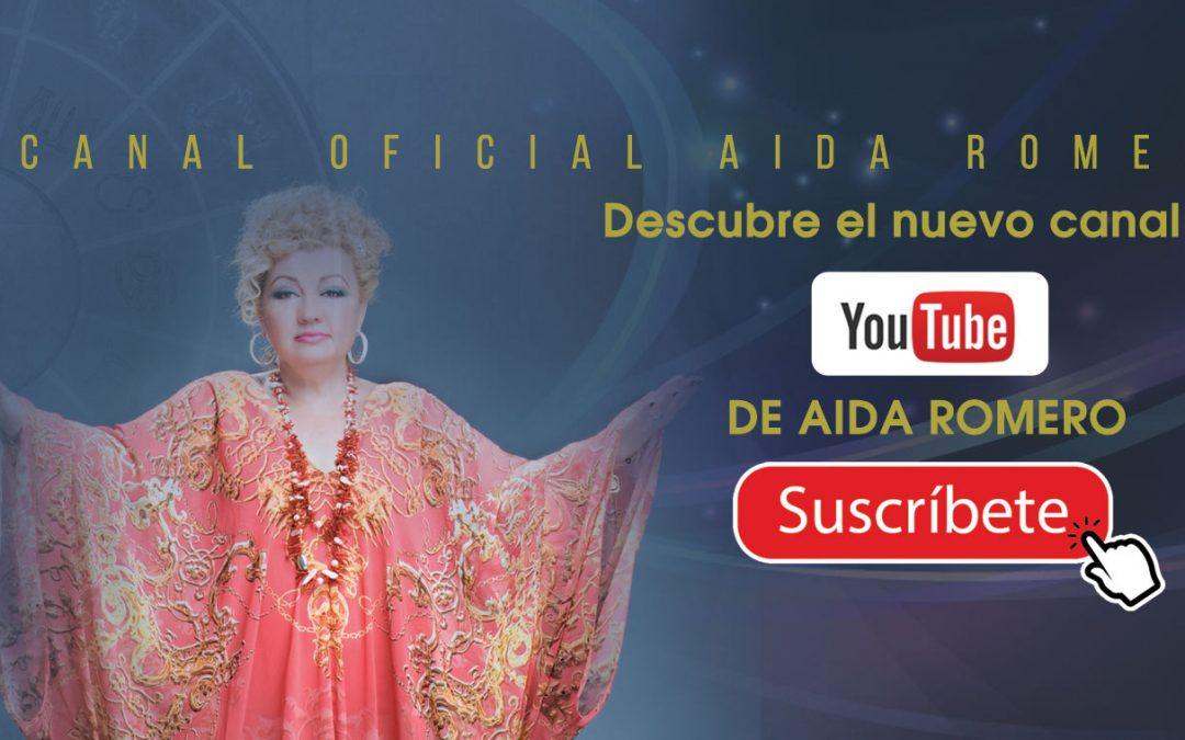 ¿Quieres que Aida Romero tenga un programa en directo?. Suscríbete a su canal de Youtube