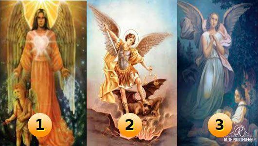 Elige uno de los tres Arcángeles y descubre su mensaje para ti