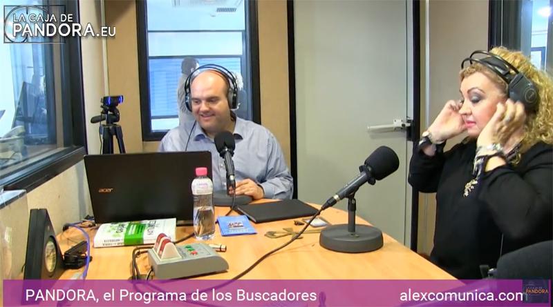 Aida Romero en la caja de pandora